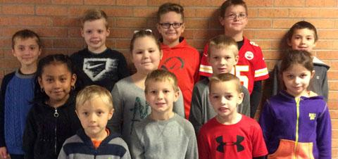 Elementary Students of the Month of December