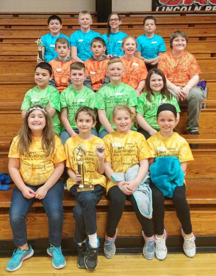 Elementary Students participated in the Conference Math and Spelling Bee in Lincoln