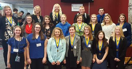 FBLA Members participate in Leadership Conference