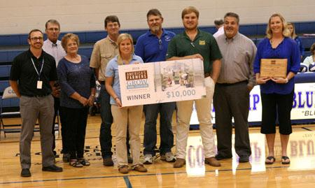 Grant from the America's Farmers Grow Rural Education Program